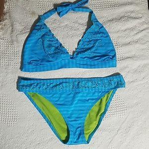 Other - Blue bikini sz L